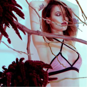 """Avalon Westcott in the Hopeless Lingerie """"Beware the Moon"""" campaign via hopelesslingerie.com #AvalonWestcott #lingerie #hopelesslingerie #model #alternativemodel #GIRLBOSS"""