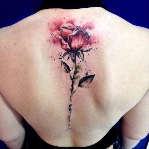 #RobertoFelizatti #aquarela #watercolor #tatuadoresdobrasil #sketch #colorida #colorful #flor #flower