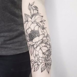 #TuanyHase #tatuadorasdobrasil #botanica #botanical #blackwork #flores #flowers