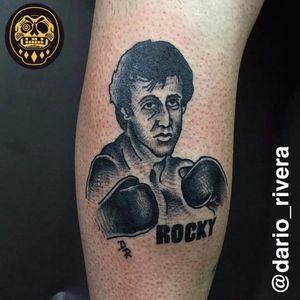 #DarioRivera #RockyBalboa #SylvesterStallone #boxe #filme #movie #lutador #fighter #pretoecinza #blackandgrey