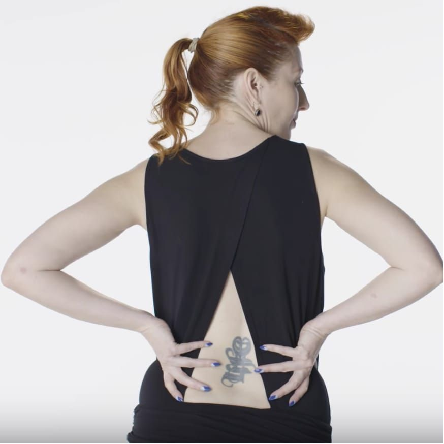 Women are trying to erase the stigma surrounding lower back tattoos. #Lowerbacktattoo #trampstamp