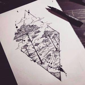 #TyagoCompiani #tatuadoresbrasileiros #tatuadoresdobrasil #sketch #blackwork #watercolor #aquarela