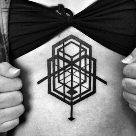 An intricate sequence of rectangles and squares by Ben Volt (IG—benvolt). #abstract #avantgarde #BenVolt #bold #blackwork #experimental #geometric #minimalist #ornamental