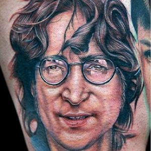 John Lennon feito por Cecil Porter. #johnLennon #TheBeatles #CecilPorter #DiaMundialDoRock #rock #musica #music #brasil #portugues