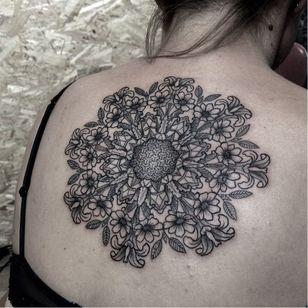 Mandala tattoo by Laurent Z #LaurentZ #mandala