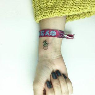 Adorable cactus tattoo by Cagri Durmaz #CagriDurmaz #drawing #doodle #sketch #sketchbook #blackworkerssubmission #blackworkers #linework #linetattoo #blackwork #smalltattoo #littletatto #cactus #micro
