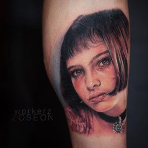 Mathilda portrait by Oseon #color #colorrealism #Mathilda #Leon #LeonTheProfessional #portrait #Oseon