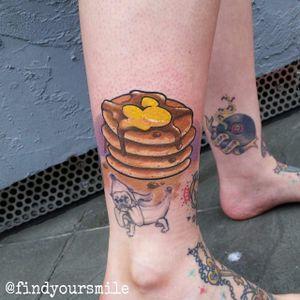 Fat stack of pancakes by Russell Van Schaick. #traditional #pancakes #breakfast #RussellVanSchaick