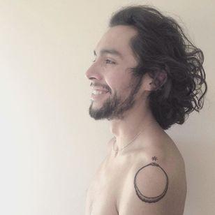 Wiccan tattoo (via IG—juanberalbec) #SummerSolstice #Wiccan #Pagan #Summer #Litha