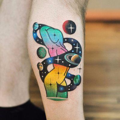 Sensualidade de outro mundo #DavidCote #gringo #psychedelic #psicodelico #colorido #fullcolor #mulher #woman #espaço #space #planeta #planet #galaxy #galaxia #star #estrela #degrade