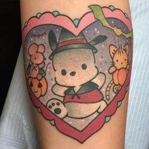 Sanrio tattoo by Alex Strangler. #sanrio #adorable #kawaii #cute #pink #pastel
