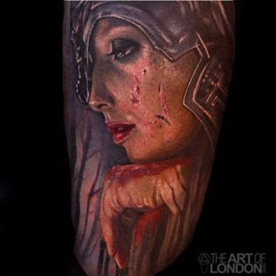 Insane detail work and highlights on this lady tattooed by London Reese. #LondonReese #highlights #detail #TheArtOfLondon