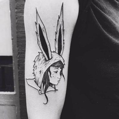 Coelhinha #CapitainePlum #gringa #illustração #illustration #ludico #playful #girl #garota #menina #mulher #woman #rabbit #coelho