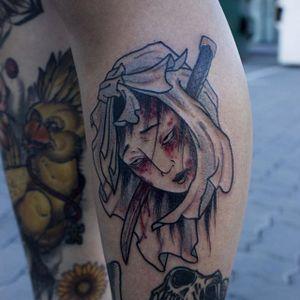 Namakubi Tattoo by Akos #namakubi #neojapanese #japanese #neotraditional #contemporaryjapanese #Akos #AkosTattoo