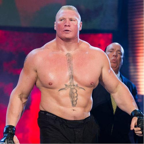 Brock Lesnar. #BrockLesnar #UFC #WWE