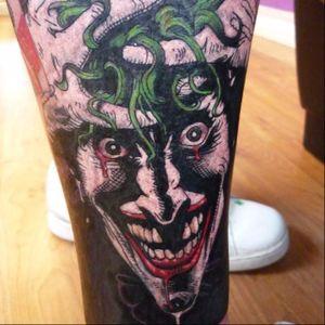 Killing Joke tattoo By Tony Hunt #thekillingjoke #killingjoke #batman #batmanjoker #joker #dccomics #comicbook #TonyHunt