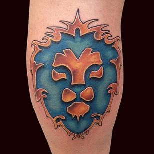 Símbolo da Aliança por Marc Durrant #MarcDurrant #AlianceSymbol #SimboloDaAliança #WoW #Warcraft #colorful