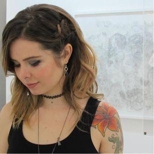 #LuizaFortes #tatuagensColoridas #colorful #fineline #traços #minimalista #artistaNacional #brasil