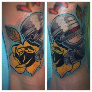 RoboCop Tattoo by John Mazurek #RoboCop #Cyborg #SciFi #Movie #JohnMazurek