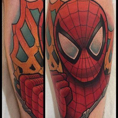 O amigo da vizinhança! #DavidTevenal #comics #quadrinhos #hq #nerd #geek #coloridas #colorful #homemaranha #spiderman #marvel