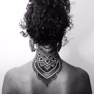 Awesome mandala tattoo by Corey Devine #mandala #coreydevine
