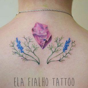 Fofurismo! #ElaFialho #tatuadorasdobrasil #coloridas #colorful #delicada