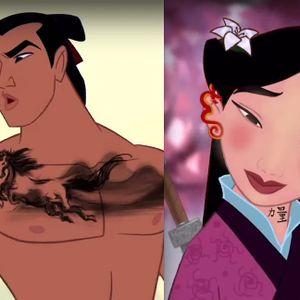 Inked Disney characters by Diego Gomez