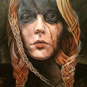 Cracked by Alex Reisfar (via IG-alexreisfar) #surrealism #artist #artshare #painting #fineart #AlexReisfar