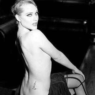 The Shel Silverstein tattoo on Evan Rachel Woods' back. #EvanRachelWood #Celebrities #Candle #ShelSilverstien
