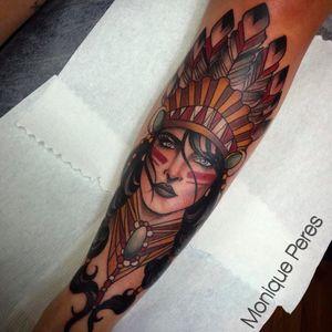 Lindo trabalho da Monique Peres! #MoniquePeres #Tatuadorasbrasileiras #newtraditional #newtraditionalist #neotraditional #neotraditionaltattoo #woman #mulher #india #indian #Indianwomantattoo #neotradindian