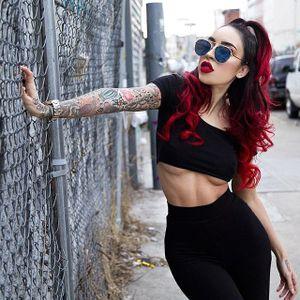 Raquel Reed by David Zayas Jr. (via IG-dzcs4u) #raquelreed #burlesque #costuming #striptease #wcw