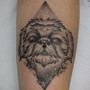 #cachorro #dog #FabioDamato #TatuadoresDoBrasil #pontilhismo #dotwork #blackwork #brasil