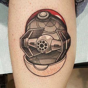 Pokéball design by Boss Tom Cooney. #pokemon #pokeball #videogame #anime #starwars #crossover #BossTomCooney
