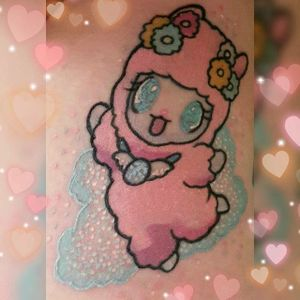 Sanrio tattoo by Keely Rutherforf. #sanrio #adorable #kawaii #cute #pink #pastel