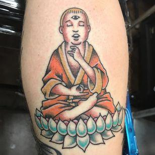 Buddha Hill. (via IG - j_lapointe) #KingoftheHill #KingoftheHillTattoo #Cartoon #CartoonTattoo #BobbyHill