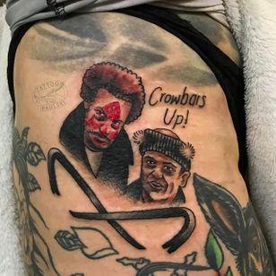 Wet bandits tattoo by Tattoo Paulski (via IG -- tattoopaulski) #tattoopaulski #homealone #homealonetattoo