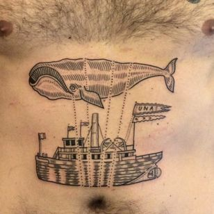 Woah, a whale in charge of an airship. Way to go! (Via IG - dukerileystudio)