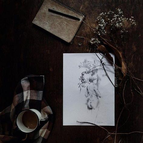 Art made at La Bottega dell'Arte #labottegadellarte #graphic #contemporary #art #coffee #inspiration