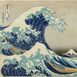 'The Great Wave off Kanagawa' by Katsushika Hokusai #thegreatwaveoffkanagawa #hokusai #japanese #greatwaveoff #woodblock #iconic #fineart #mtfuji #wave