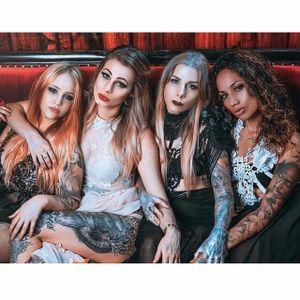 Some of the ladies from Garage Ink. #TeneileNapoli #GarageInk #GarageInkManor