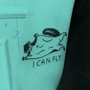 Tattoo by Trash Flash #TrashFlash #trashflash666 #satatttvision #trash #offbeat #squirrel