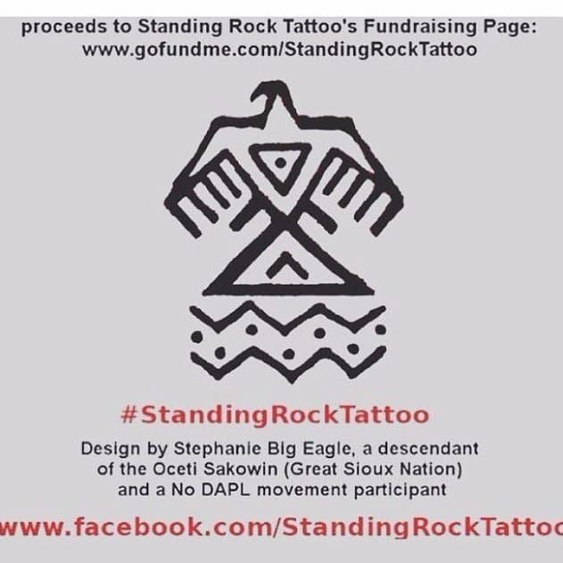 Standing Rock's charity page. #ParisJackson #StandingRock