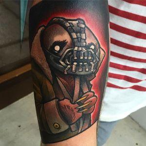 Bane Sloth Tattoo by Eddie Stacey #sloth #slothtattoo #slothtattoos #slothdesign #funtattoos #EddieStacey