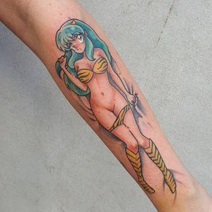 Ecchi tattoo by Michela Bottin. #MichelaBottin #anime #ecchi #nsfw