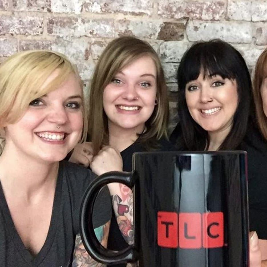 """The ladies of """"Tattoo Girls."""" (via IG—inkinktat) #InkInk #TLC #TattooGirls"""