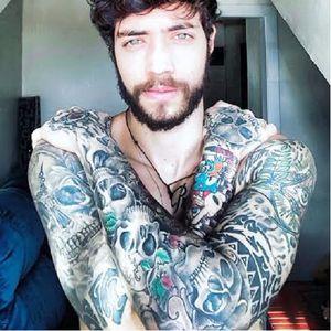 Filipe Sá #homenstatuados #modelostatuados #brasil #brazil #portugues #portuguese