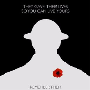 Remember them... #WWI #WWII #soldier #war #heroe #centenary #worldwar