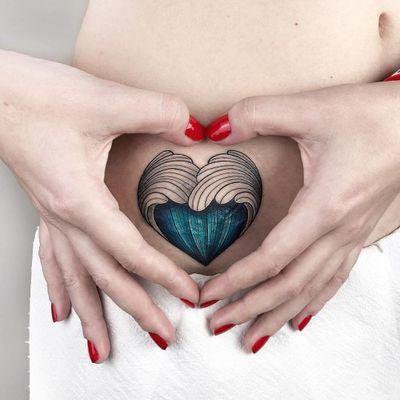 #AnastasiaSlutskaya #nastyafox #gringa #colorido #colorful #onda #wave #mar #ocean #sea #coração #heart