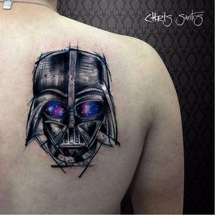 #ChrisSantos #starwars #tatuadoresdobrasil #nerd #geek #filmes #movies #darthvader #galaxia #galaxy