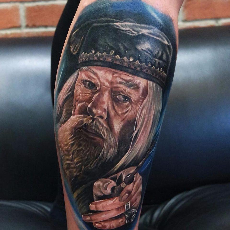 Albus #dumbledore Tattoo By Jordan Croke #harrypotter